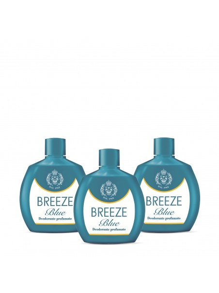 3Pack Breeze - DEO SQUEEZE BLUE