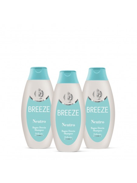 3Pack Breeze - BAGNOSCHIUMA NEUTRO