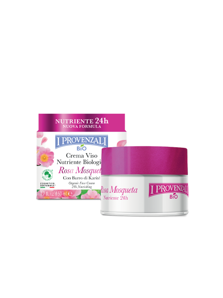 I Provenzali Crema Viso Nutriente Rosa Mosqueta Bio