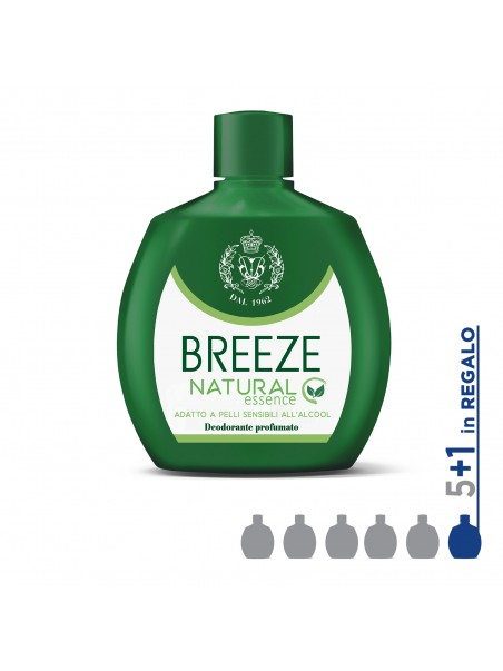 Kit Breeze - DEO SQUEEZE NATURAL ESSENCE