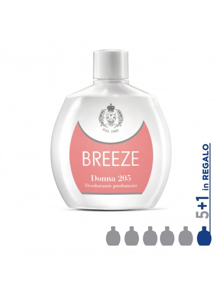 Kit Breeze - DEO SQUEEZE DONNA 205