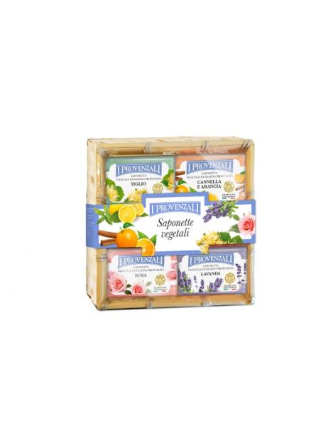 I Provenzali - Cofanetto 5 saponette Vegetali